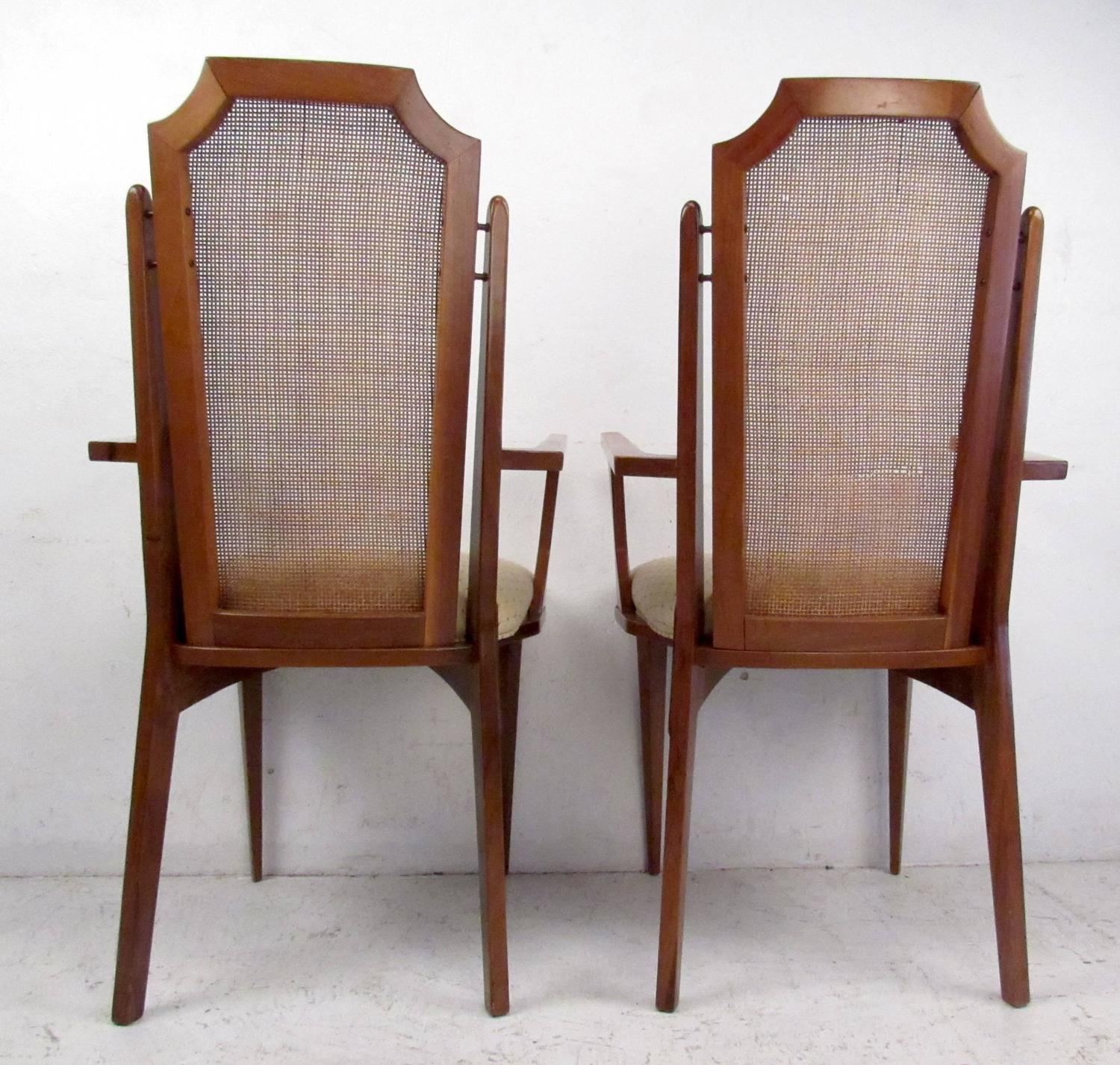 six mid century dining room chairs for sale at 1stdibs