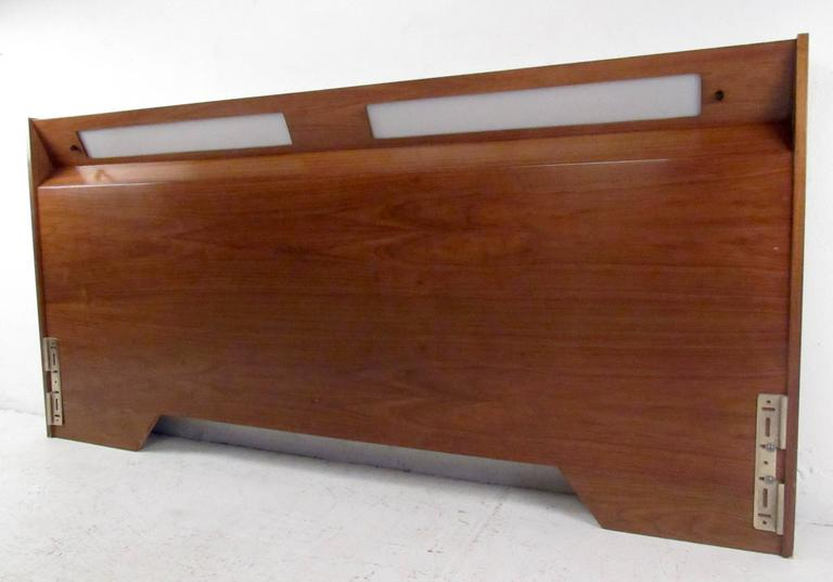 Mid-20th Century Mid-Century King-Size Headboard For Sale