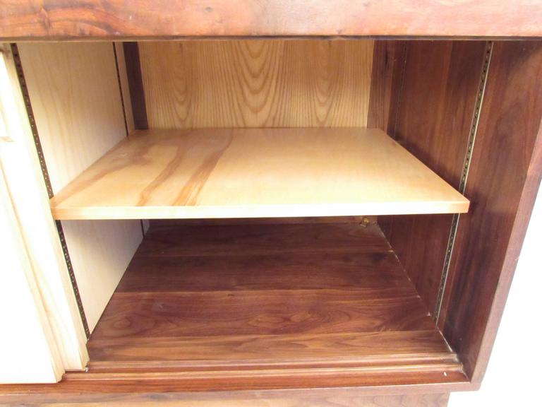Mid-20th Century Vintage Rosewood Office Credenza For Sale