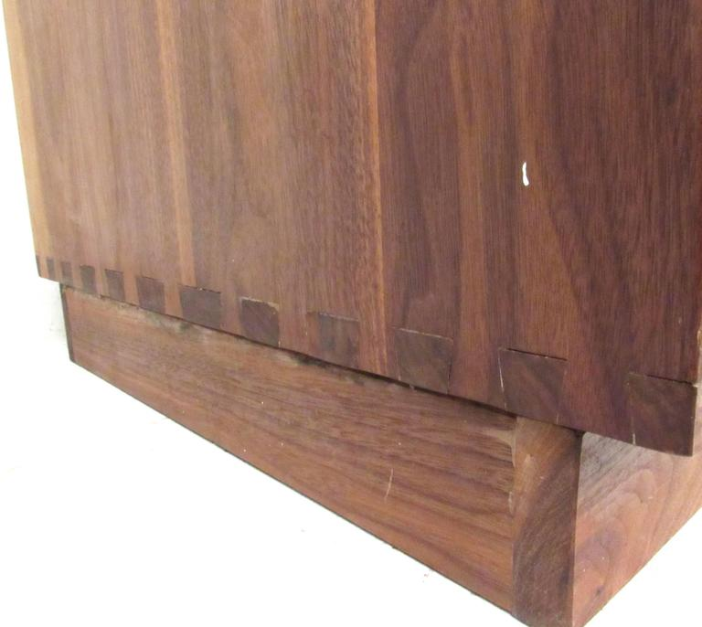 Vintage Rosewood Office Credenza For Sale 2