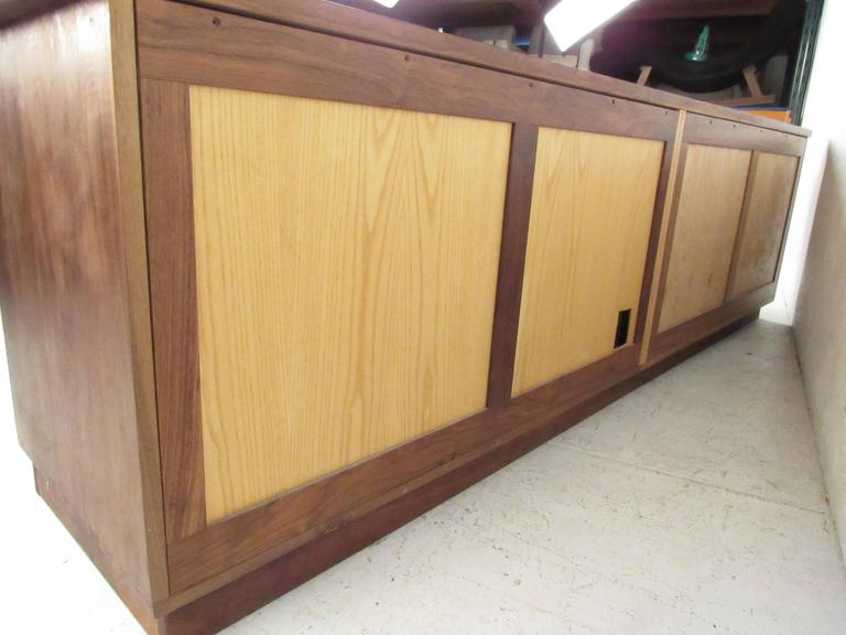 Vintage Rosewood Office Credenza For Sale 1