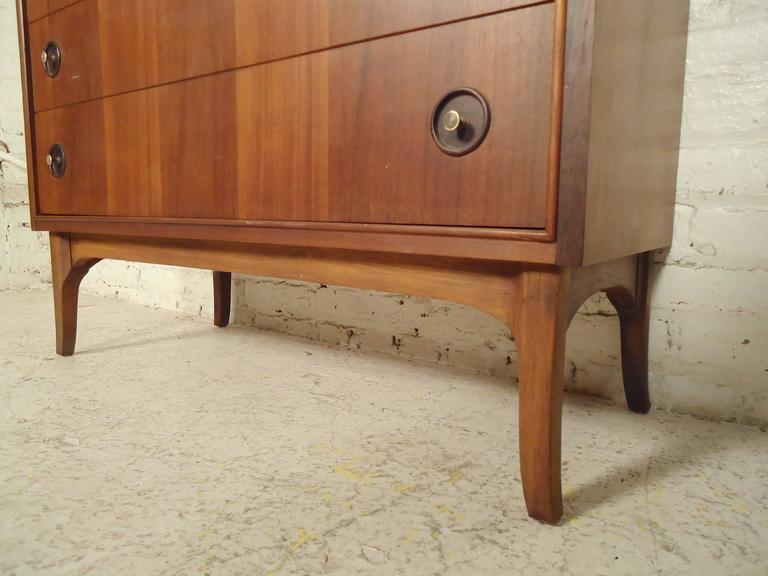Mid-Century Modern Rare Mid-Century Drop Front Cabinet and Desk For Sale