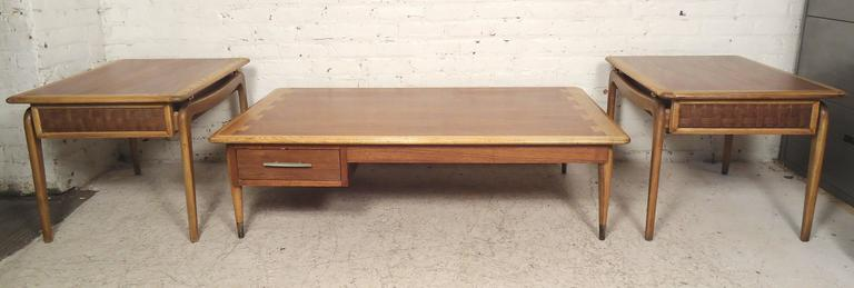 Mid-Century Modern Mid-Century End Tables by Lane For Sale