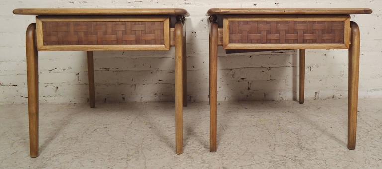 Mid-Century End Tables by Lane In Good Condition For Sale In Brooklyn, NY