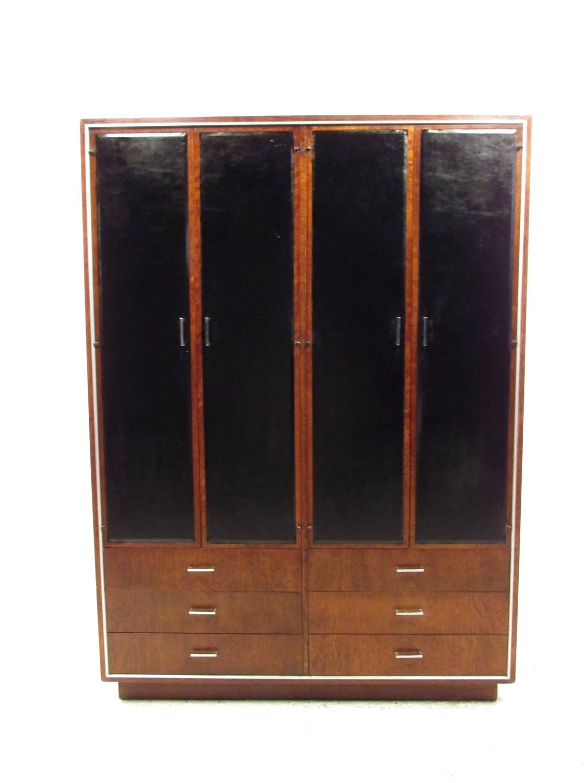 john stuart for widdicomb mid century modern wardrobe. Black Bedroom Furniture Sets. Home Design Ideas