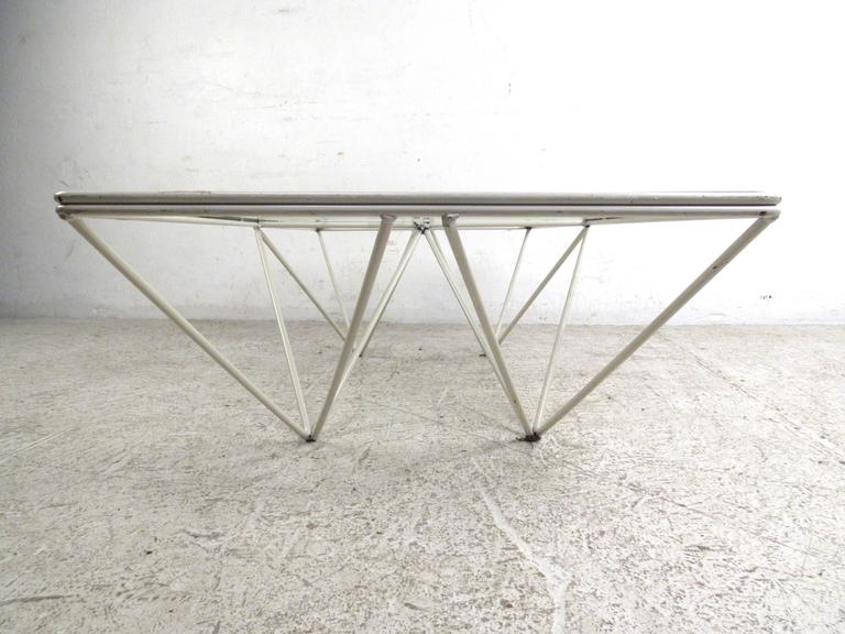 "Late 20th Century Pyramid ""Alanda"" Coffee Table Attributed to Paolo Piva For Sale"