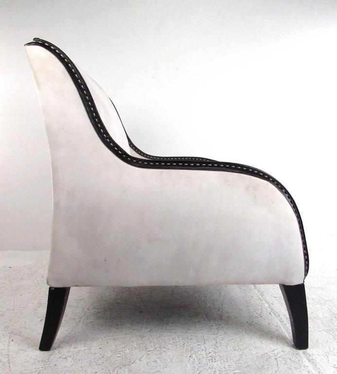 Mid-Century Modern Italian Modern Lounge Chair For Sale