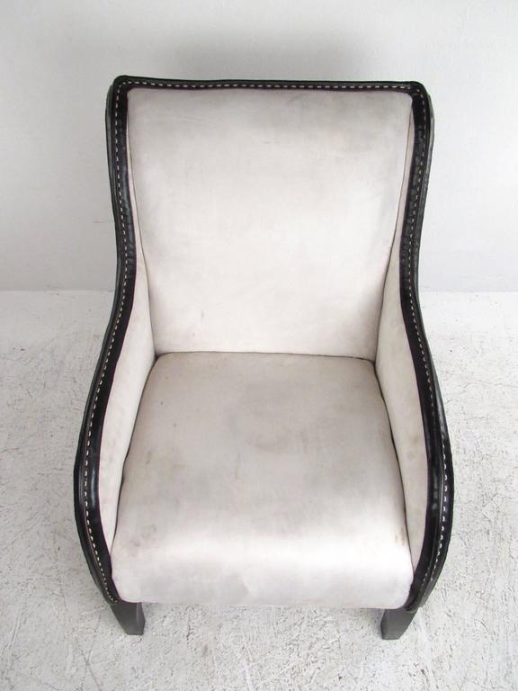 20th Century Italian Modern Lounge Chair For Sale