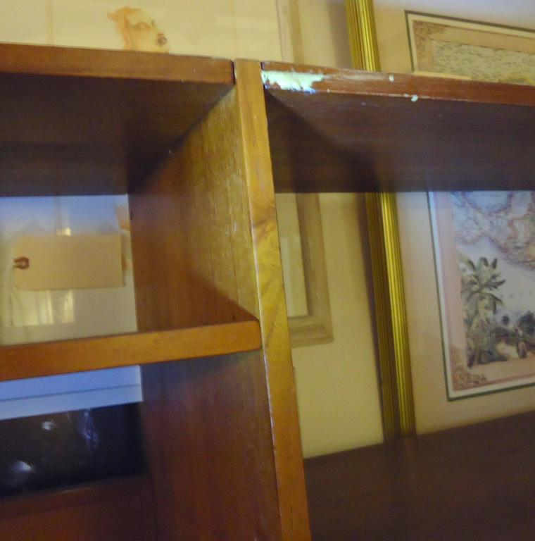 Danish Modern Standing Wall Unit For Sale 2