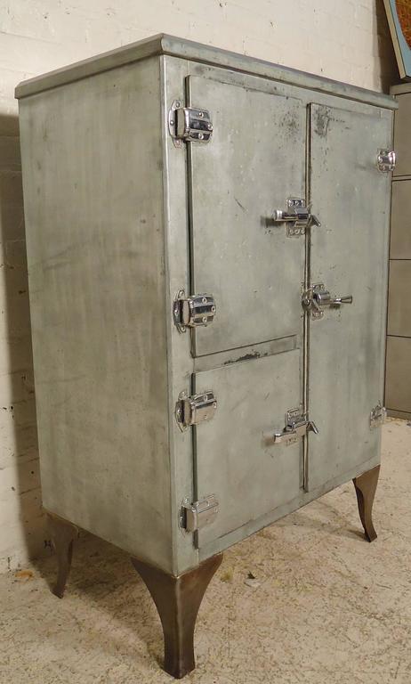 Rare Ice Box Refinished At 1stdibs