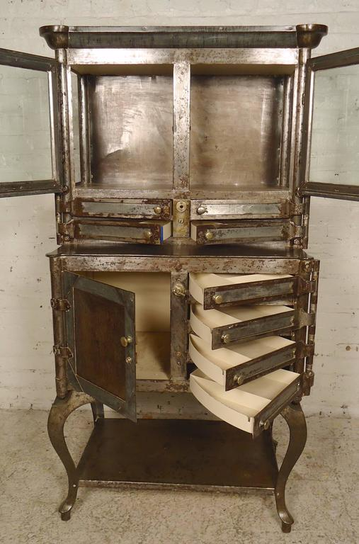 Industrial Outstanding Antique Dental Cabinet For Sale - Outstanding Antique Dental Cabinet At 1stdibs