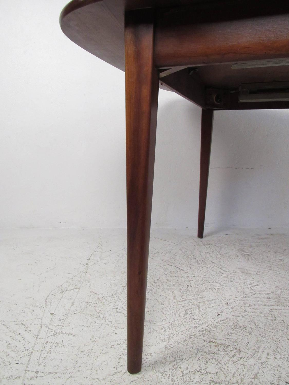 mid century modern dining set by heywood wakefield for