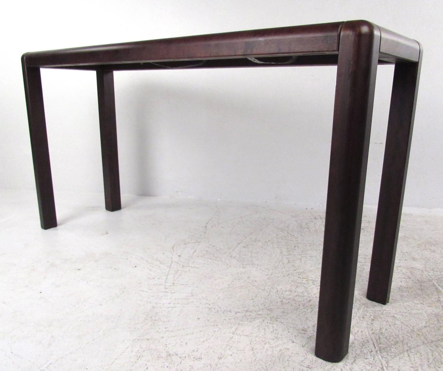 Mid Century Style Marble Top Console Table For Sale At 1stdibs