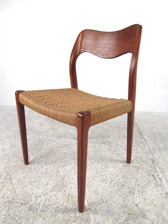 niels otto moller model 71 teak dining chairs for sale at 1stdibs