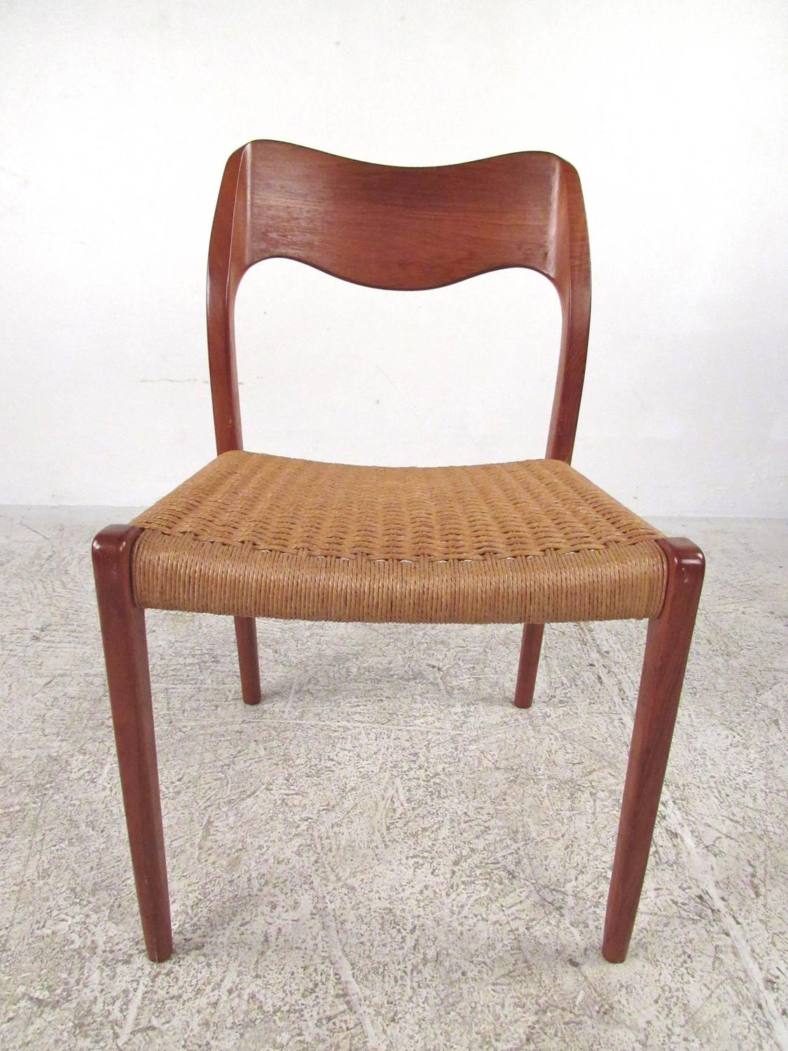 Set Of Six Niels Moller Model 71 Teak Dining Chairs For Sale At 1stdibs