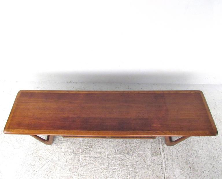 Mid-Century Modern Mid-Century Lane Coffee Table by Warren Church For Sale