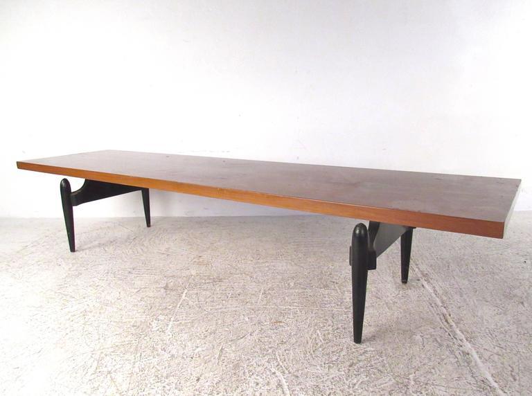 Mid-Century Modern Vintage Italian Coffee Table For Sale