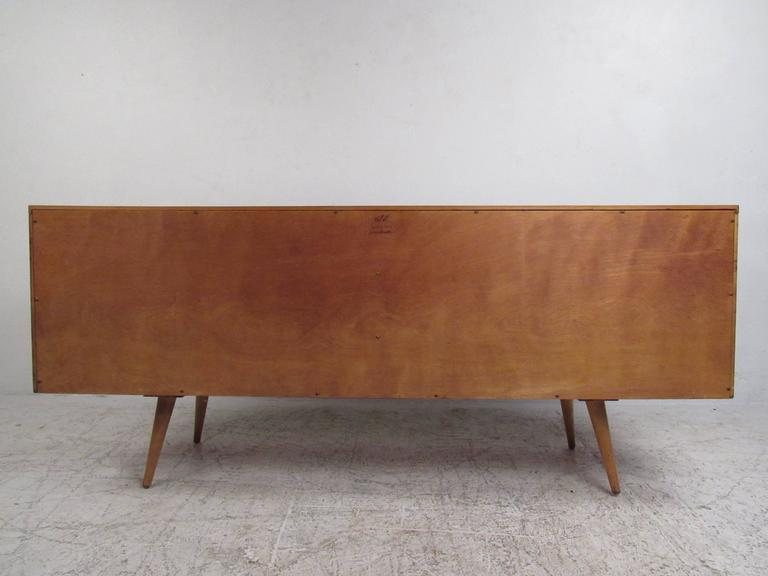 Paul McCobb Sliding Door Credenza In Good Condition For Sale In Brooklyn, NY