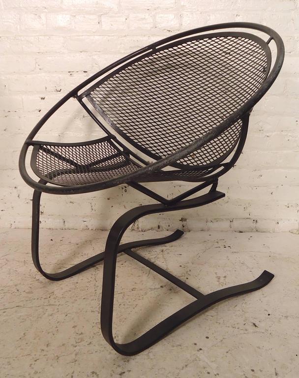 "Salterini Patio Furniture Parts: Salterini ""Radar"" Mid-Century Chairs At 1stdibs"