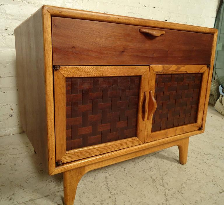 Mid-Century Modern Vintage Modern Nightstand by Lane