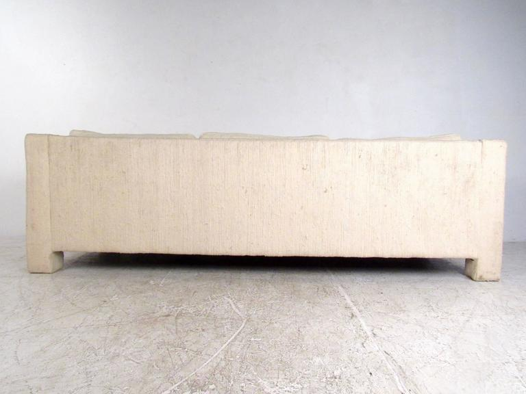 Late 20th Century Mid-Century Modern Three-Seat Sofa by Milo Baughman for Thayer Coggin For Sale