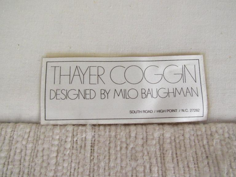 Mid-Century Modern Three-Seat Sofa by Milo Baughman for Thayer Coggin For Sale 2