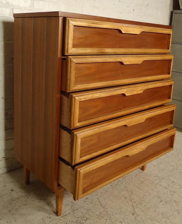 mid century modern dresser from bassett for sale at 1stdibs