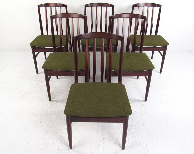 Mid Century Modern Danish Rosewood Dining Set By Vamo Sonderborg For Sale At