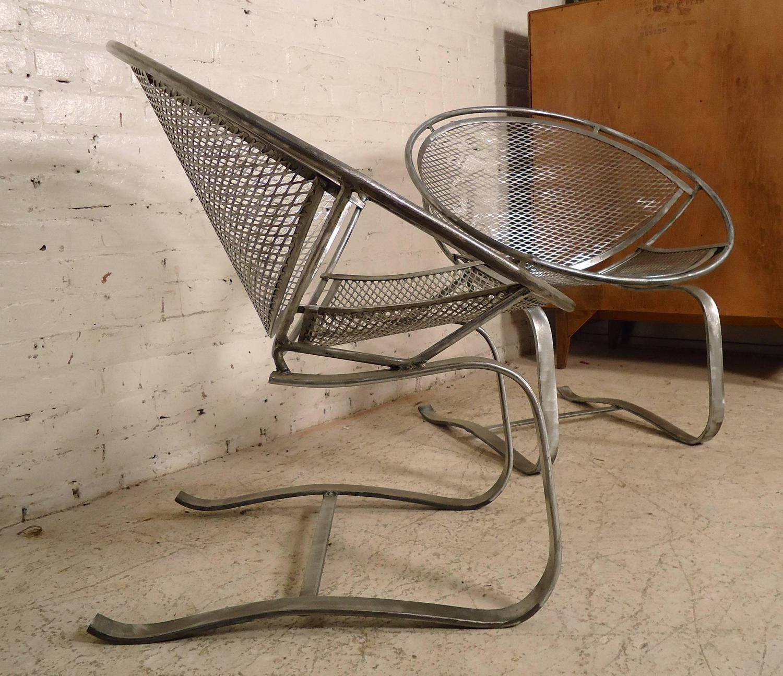 "Refinished Salterini ""Radar"" Mid Century Chairs For Sale"