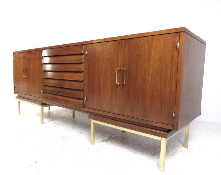Mid Century Modern Sideboard By Merton Gershun For American Of Martinsville