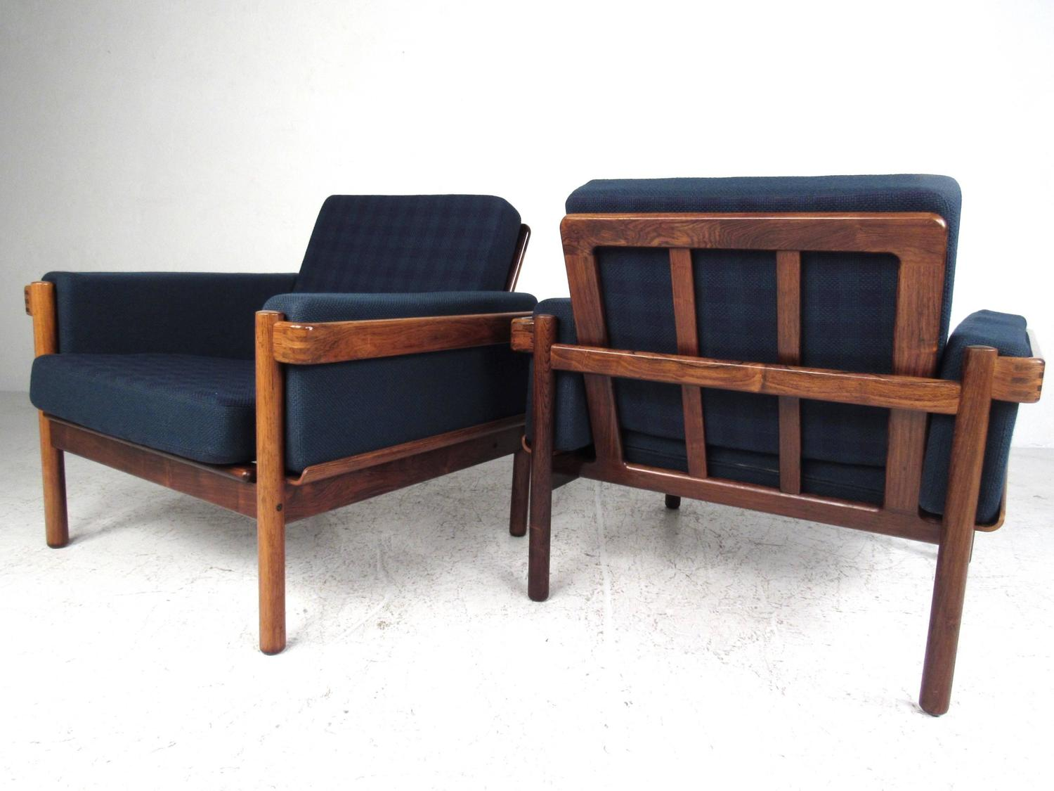 Mid century modern danish rosewood living room set for for Danish living room furniture