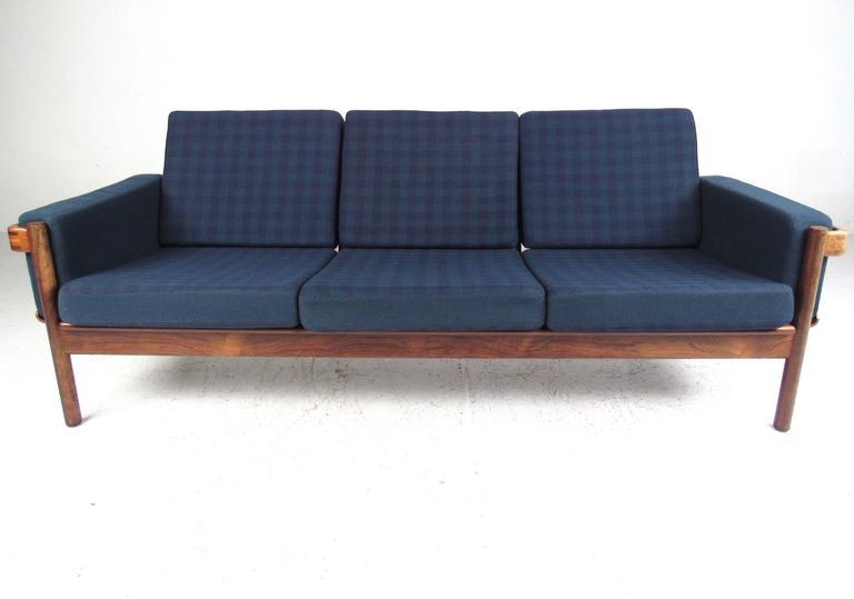 Mid Century Modern Danish Rosewood Living Room Set For Sale At 1stdibs