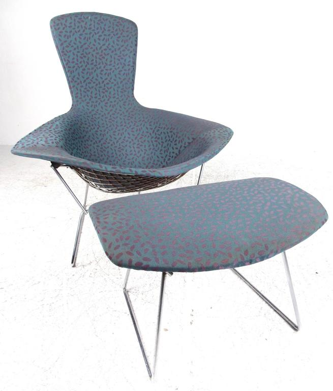This Mid Century Modern Sculptural Metal Lounge Chair Designed By Harry  Bertoia For Knoll Comes