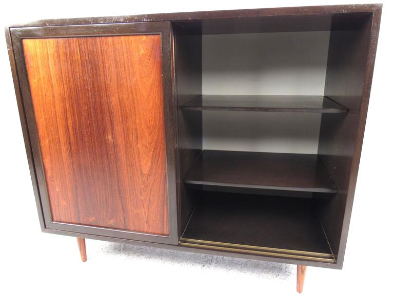 Mid-Century Modern Harvey Probber Storage Cabinet In Good Condition For Sale In Brooklyn, NY