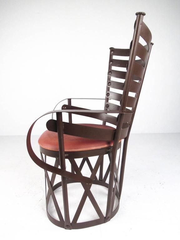 Decorative Modern Sculptural Armchair For Sale 1