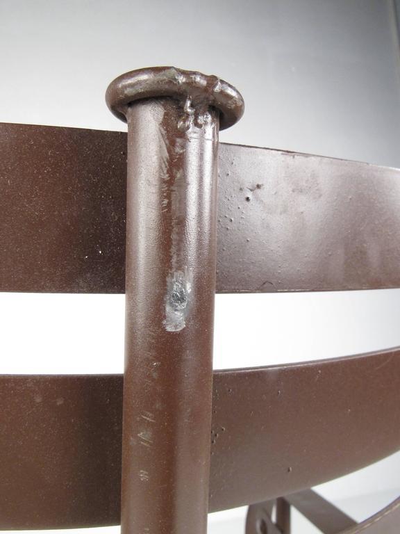 Decorative Modern Sculptural Armchair For Sale 5