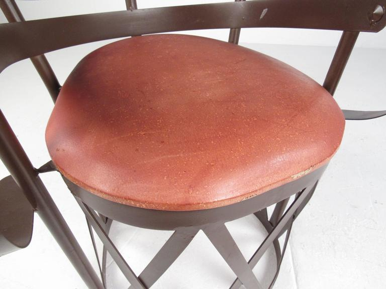Decorative Modern Sculptural Armchair For Sale 2
