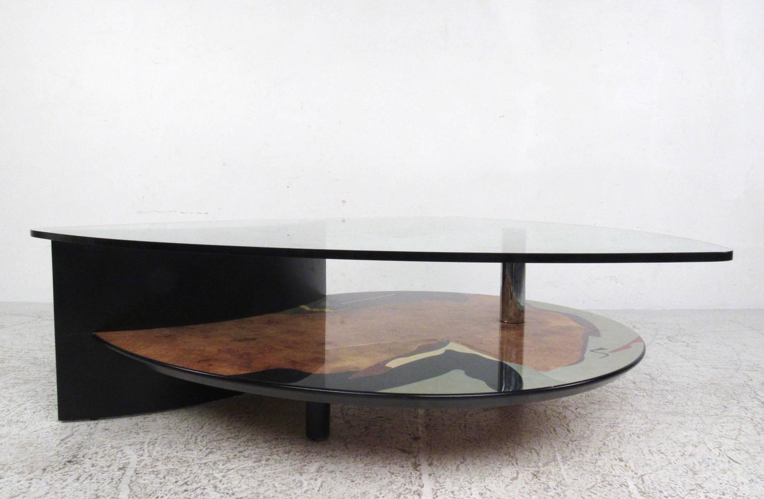 Contemporary modern sculptural coffee table for sale at for Modern coffee table for sale