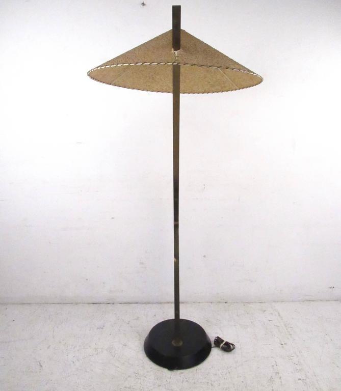 Mid Century Italian Modern Sculptural Floor Lamp For Sale
