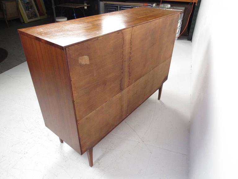 Rare Mid-Century Modern Armoire Dresser by Lane For Sale 2