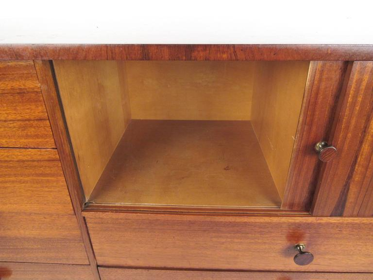 Mid-20th Century Rare Mid-Century Modern Armoire Dresser by Lane For Sale