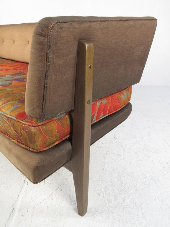 Upholstery Edward Wormley Sculptural Sofa for Dunbar For Sale
