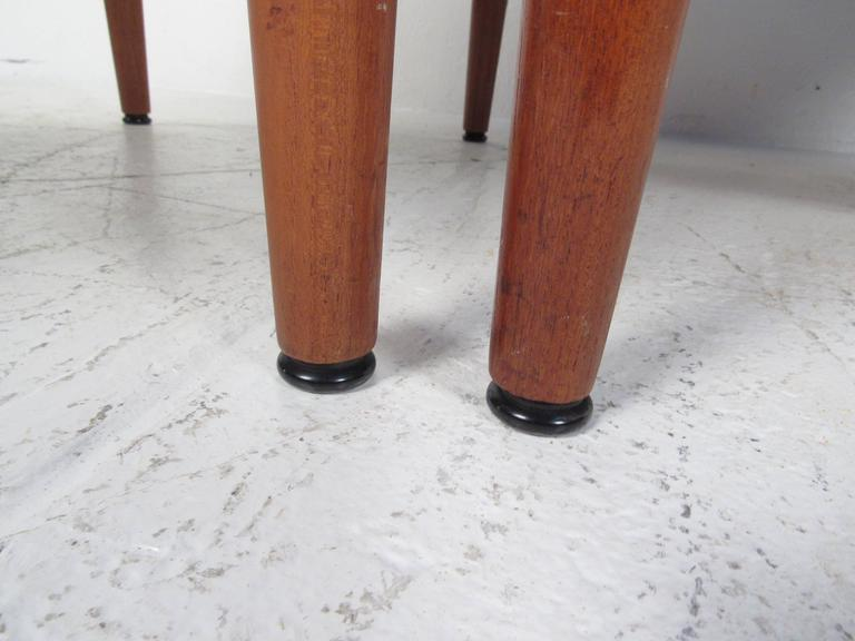 Pair Scandinavian Modern Teak Armchairs by Grete Jalk for France and Son For Sale 4