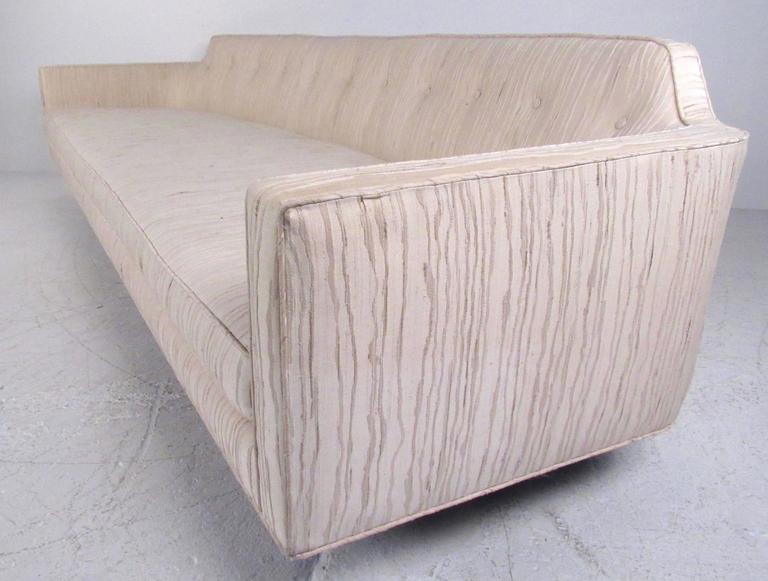 American Dunbar Sofa with Brass Legs by Edward Wormley For Sale