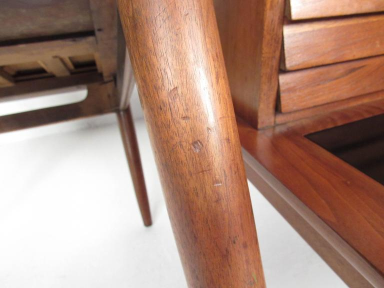Pair of Midcentury Storage End Tables by American of Martinsville For Sale 1