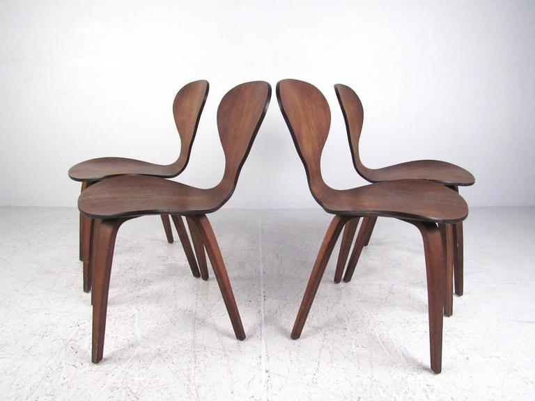 Set of Mid-Century Dining Chairs After Norman Cherner 3