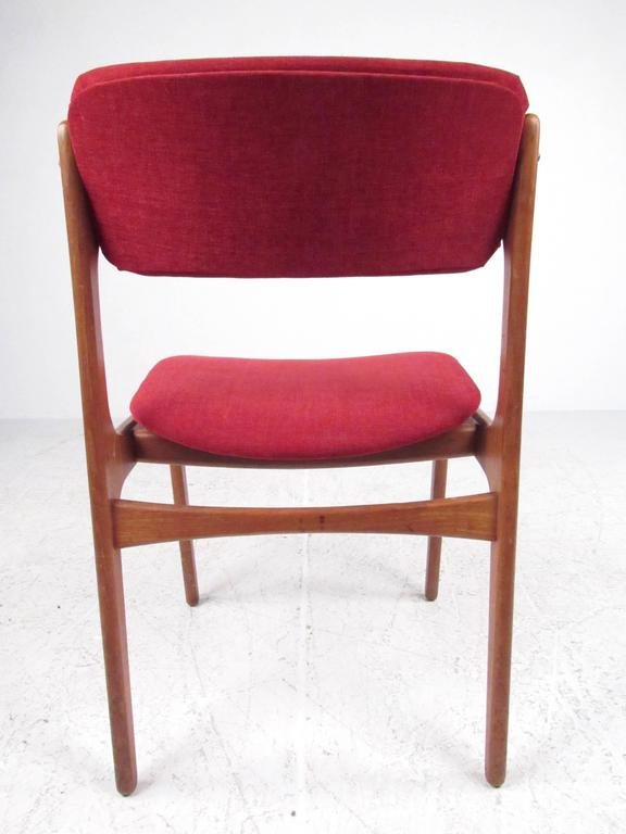 Set of Erik Buch Teak Dining Chairs for O.D. Mobler In Good Condition For Sale In Brooklyn, NY