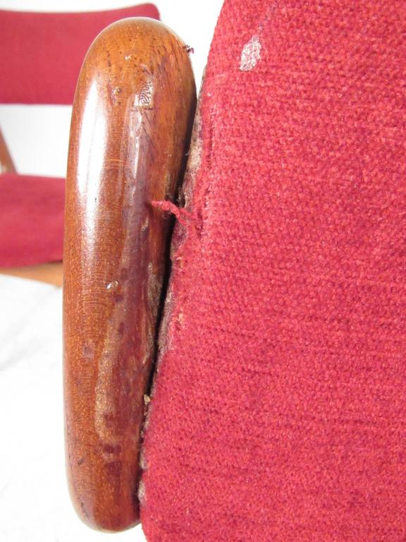 Set of Erik Buch Teak Dining Chairs for O.D. Mobler For Sale 3