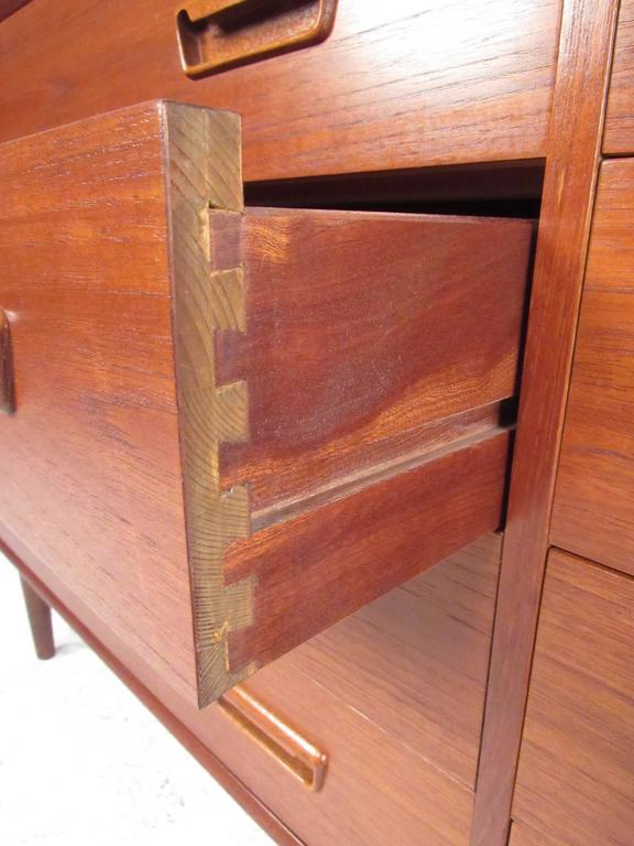 Mid Century Danish Teak Bedroom Dresser For Sale At 1stdibs