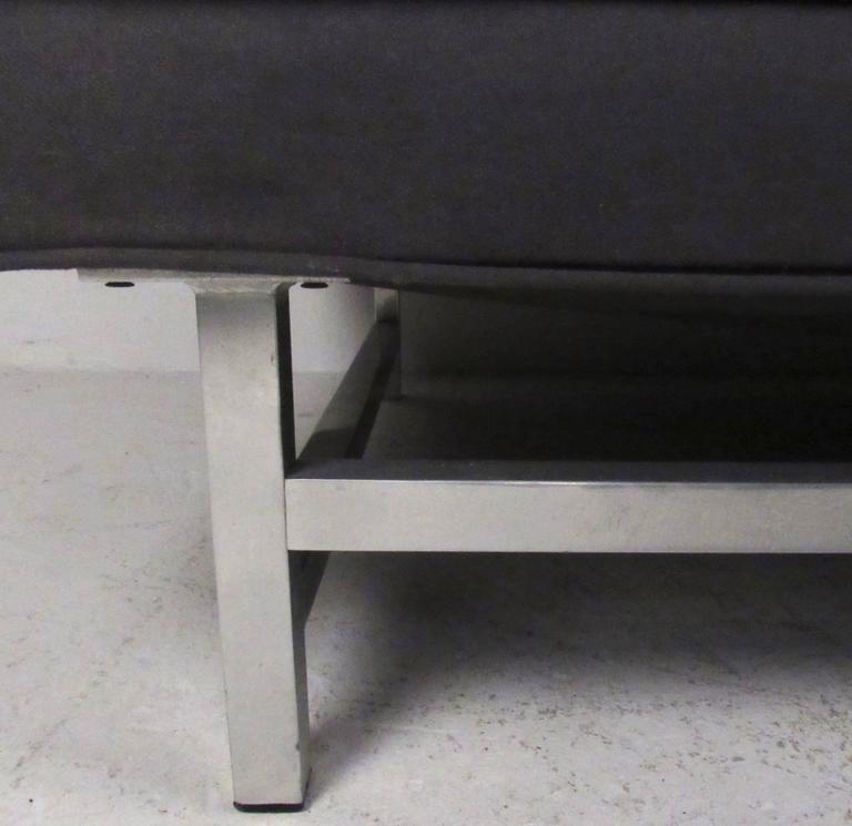 Aluminum Long Modern Sofa For Sale